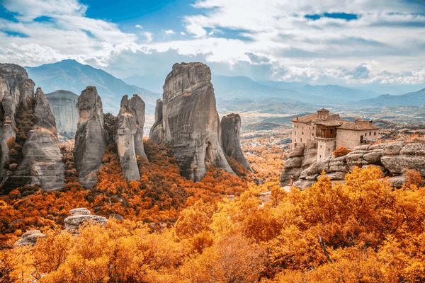 Meteora - Rock Climbing