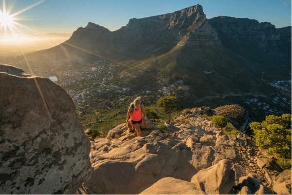 Table Mountain Climbing