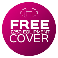 Free £250 Equipment cover