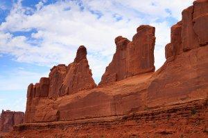 climbing desert spires