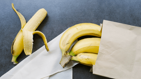 workout snacks bananas