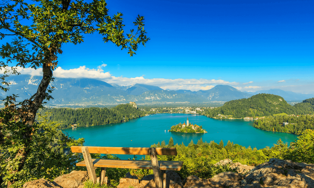 Active Holidays - Lake Bled Swimming