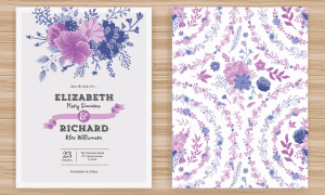 Wedding Invitation Floral