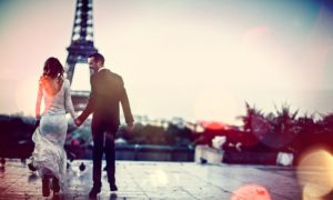 Couple Married In Paris
