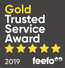 Feefo 2019 Gold Trusted